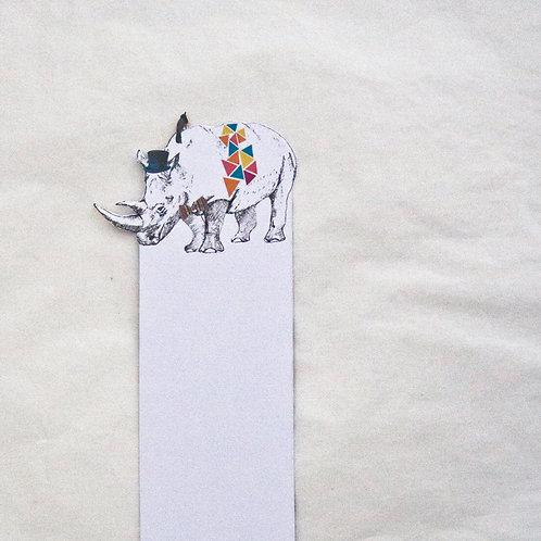 Rhino Bookmark