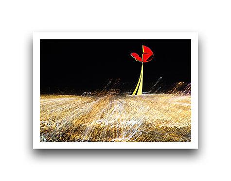 Kinetic Sculpture on Lights