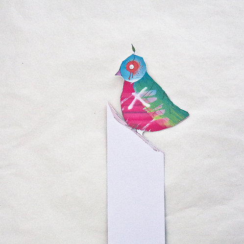 Graffiti Bird Bookmark
