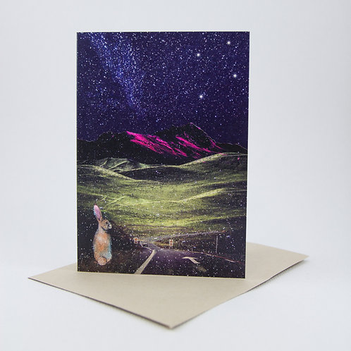 Captivating Cosmos Greeting Card