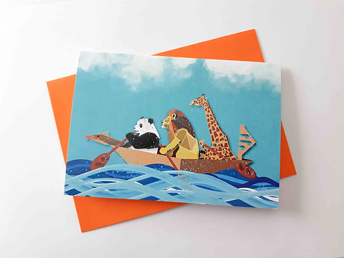 Wet n Wild Greeting Card
