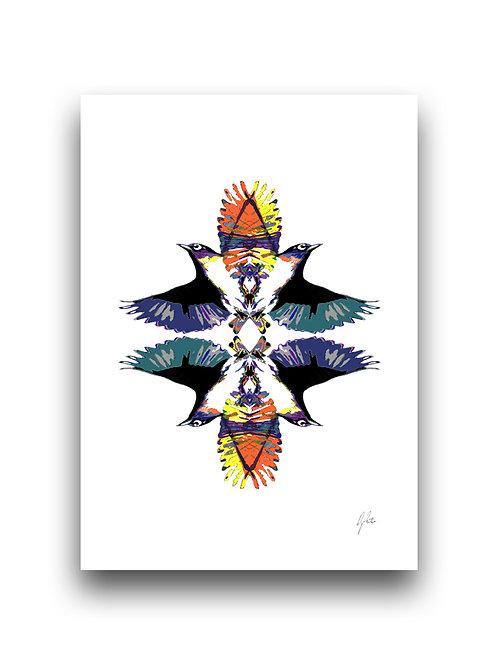 Waxeye Reflections - Illustration