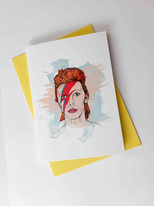 Bowie Greeting Card