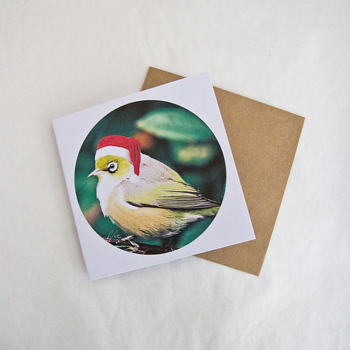 Christmas Waxeye Card