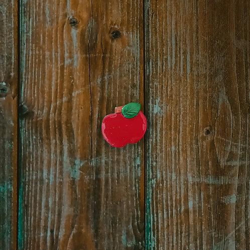 Apple Teacher Brooch