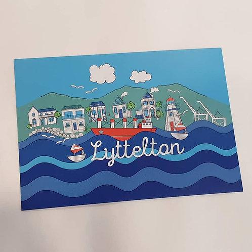 Lyttelton Postcard