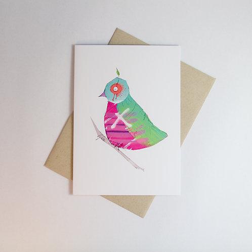 Graffiti Bird 1 Greeting Card