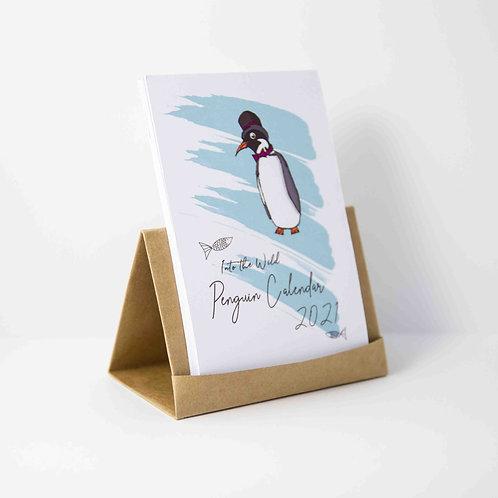2021 Penguin Desktop Calendar