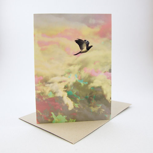 Lost in the Skies Greeting Card