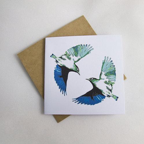 Waxeye Pair Card - Small