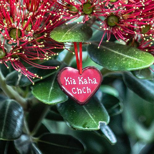 Small Kia Kaha Heart