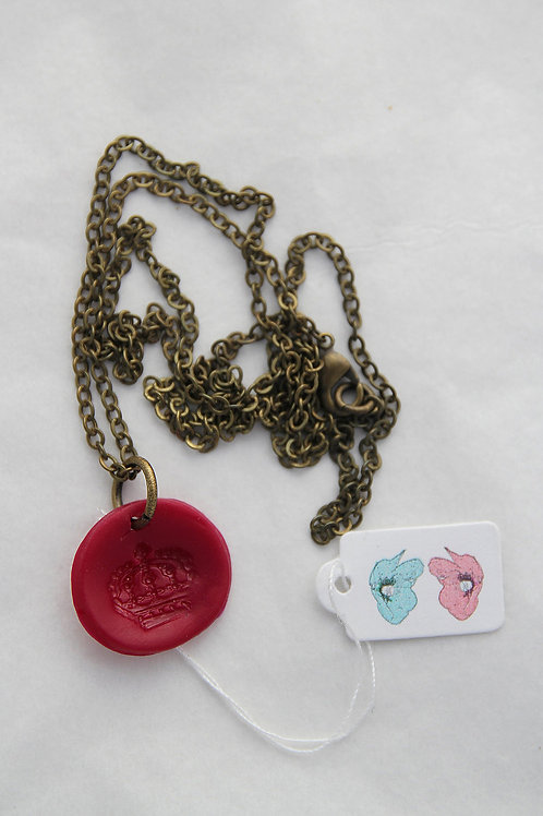 Right Royal Round Necklace