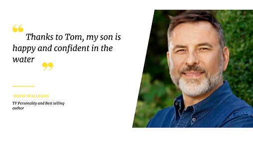 Thanks to Tom, my son is happy and confi