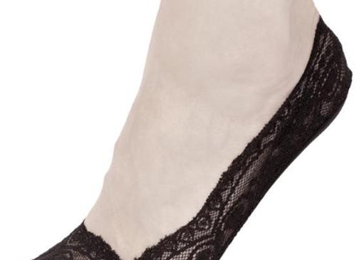 Black Lace Footies
