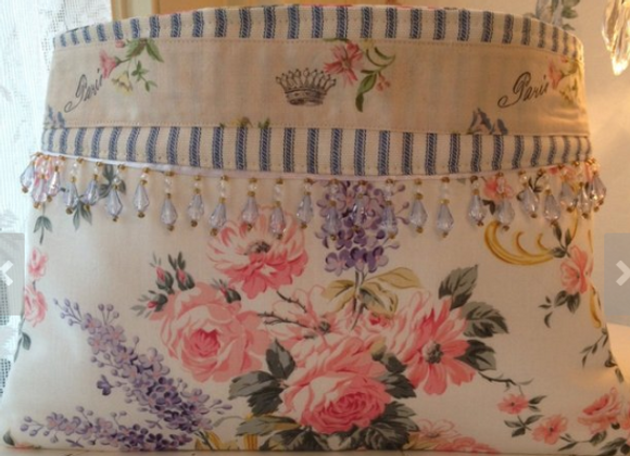 Handcrafted French Country Clutch