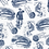 "Thumbnail: By The Sea - Cotton Fabric 43"" x 4 Yards"