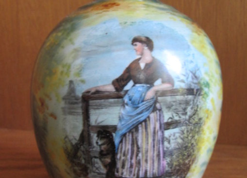 Small Portrait Vase