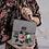 Thumbnail: Blossom Gray Handbag