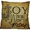 Thumbnail: Handmade Joy To The World Pillow