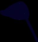 icon of a black fishing net