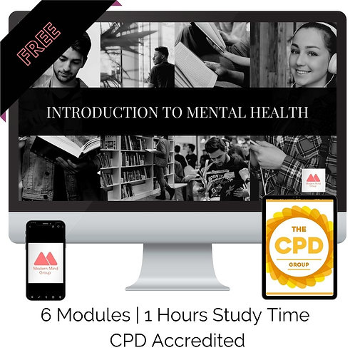 Introduction To Mental Health Course