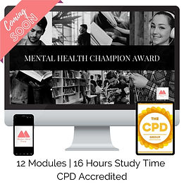 Mental Health Champion Award
