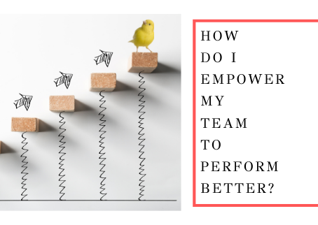 How Do I Empower My Team to Perform Better?