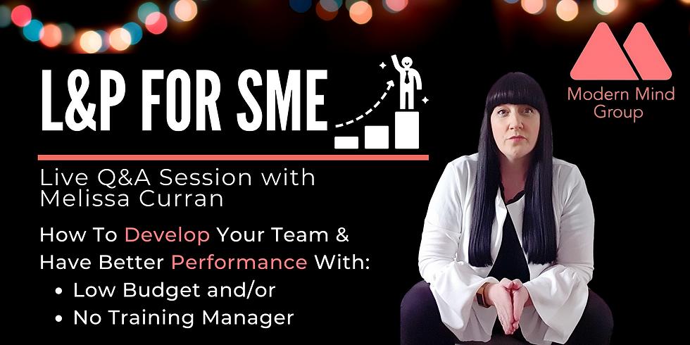 L&P For SME - Q&A
