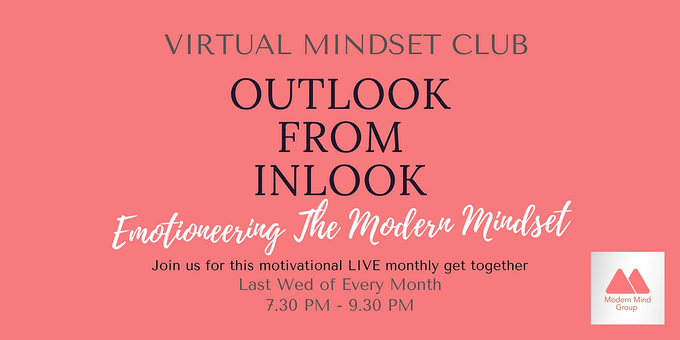 Outlook From Inlook - Virtual Mindset Club