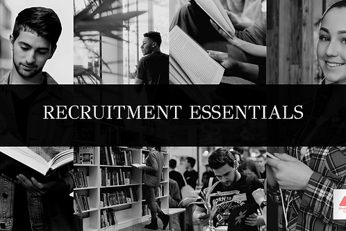 Recruitment Essentials E-Learning Course / Online Course Bundle (5 courses)