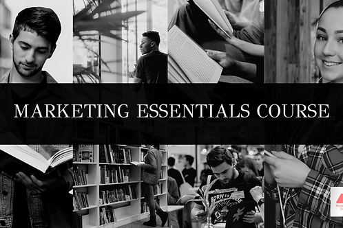 Marketing Essentials E-Learning / Online Course Bundle (10 courses)