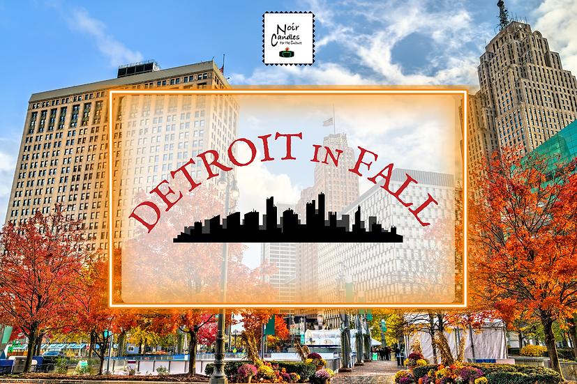 Detroit In Fall