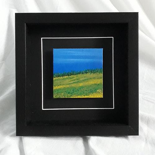 Landscape Blue & Green #18