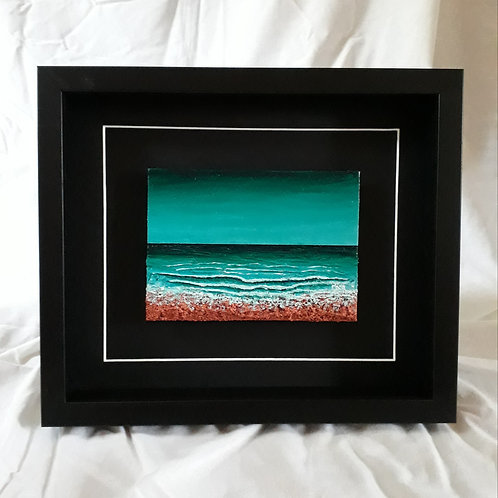 Turquoise & Copper 5x7 inches #1