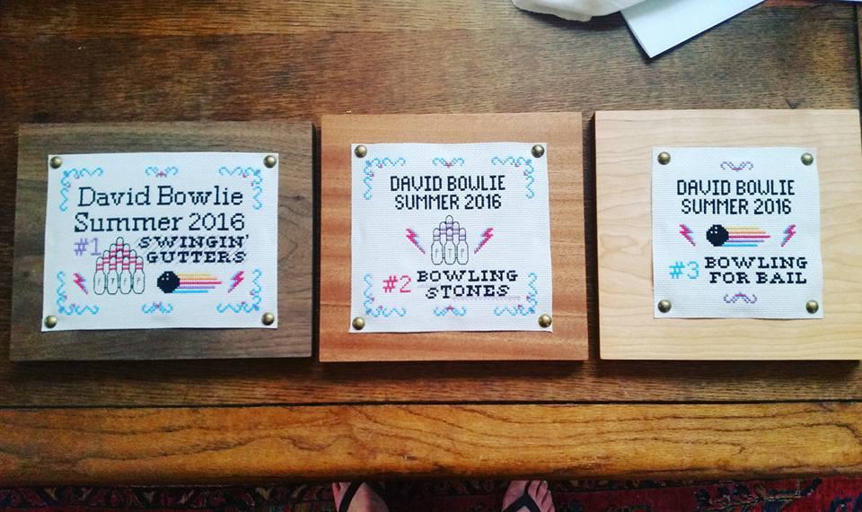 Summer 2016 trophies