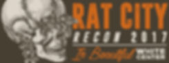 Two rats with beady red eyes and a Rat City Recon logo.