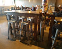 Table for Resonate Brewery