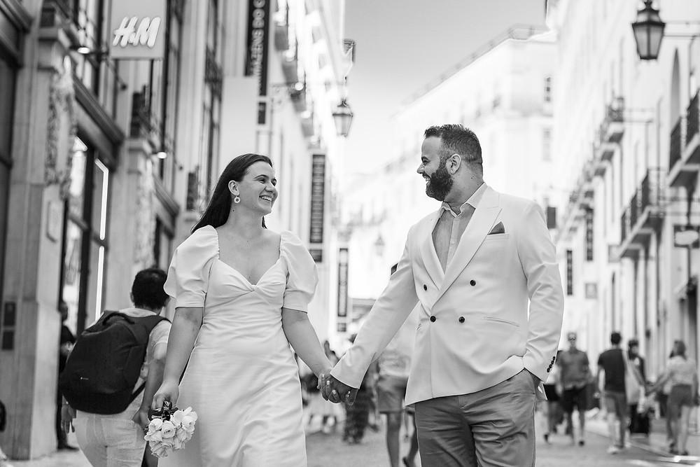 Noivos em Lisboa