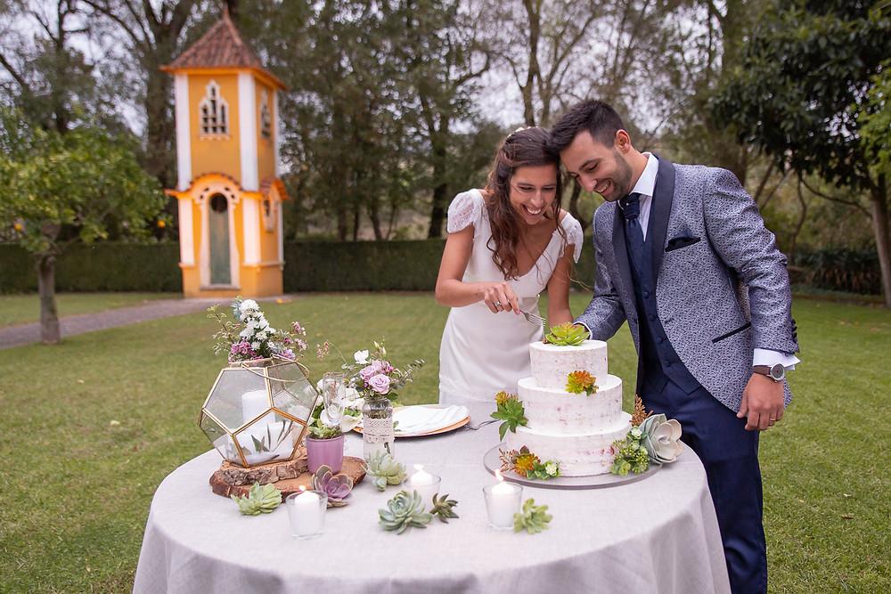corte do bolo cutting the cake