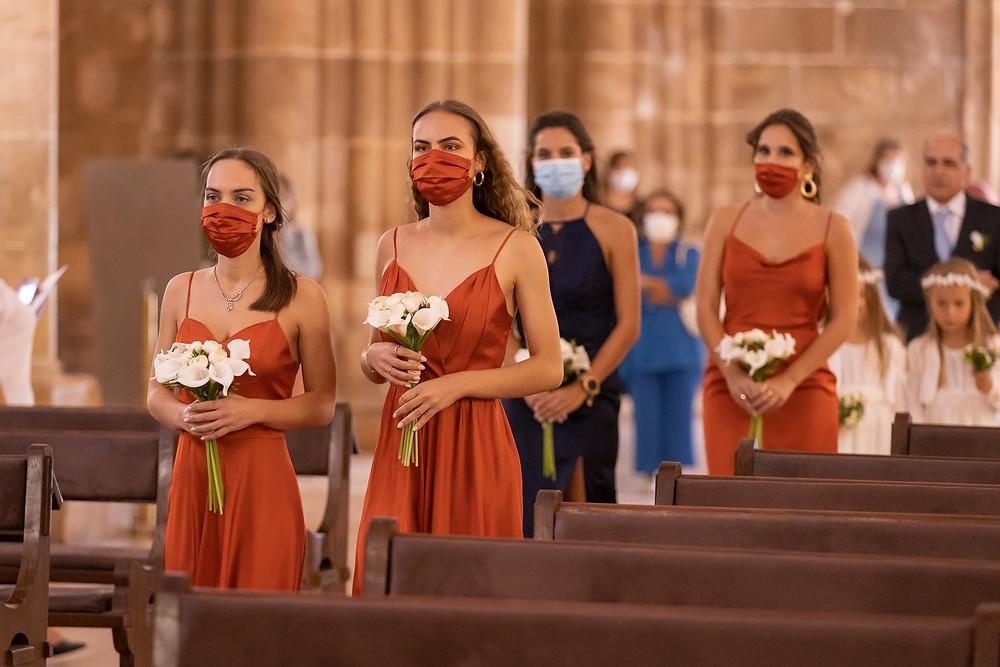 Damas de honor bridesmaids