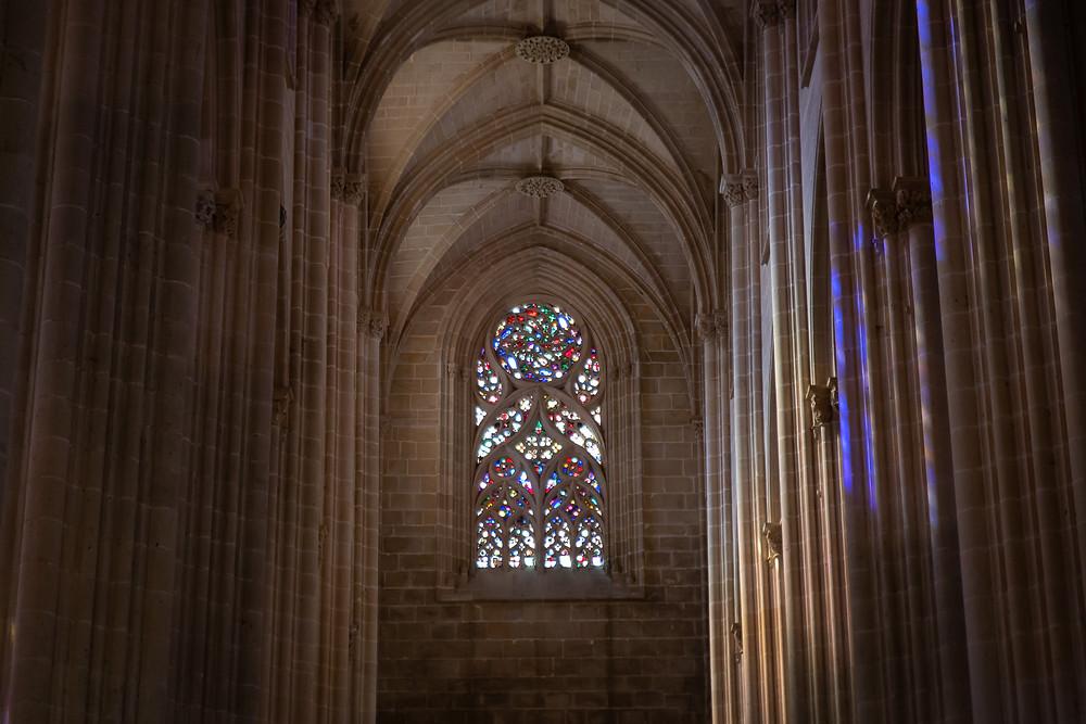 Vitral mosteiro da Batalha