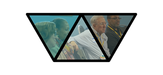 Workshop Logo with people learning in background