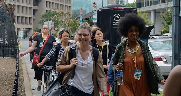 Photo of women taing a tour