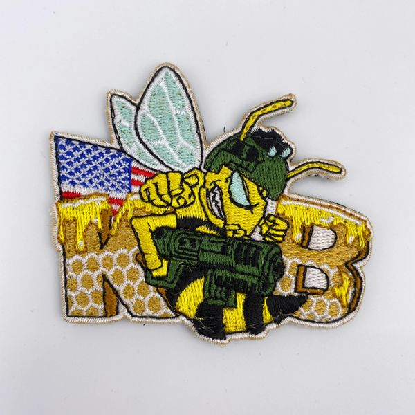 moral patch for Killer Bee Airsoft 6mm bbs