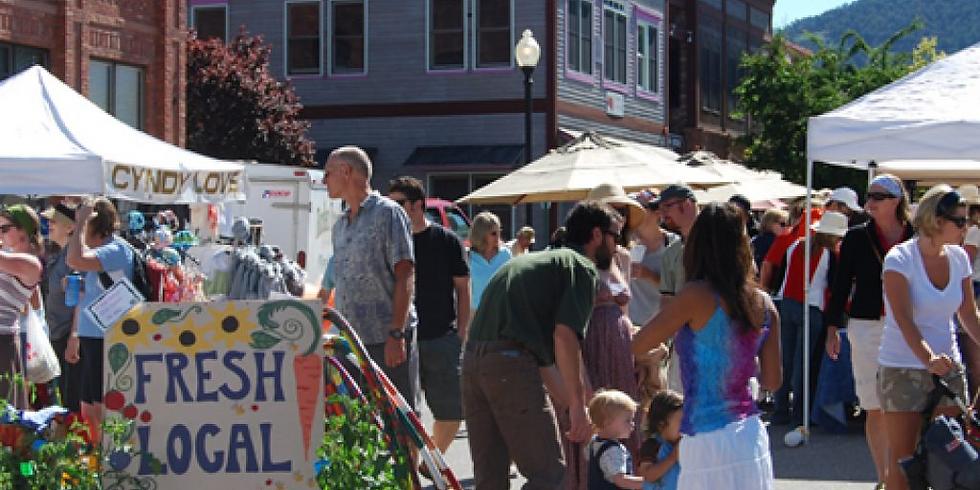 Democrats Booth @ Basalt Sunday Market