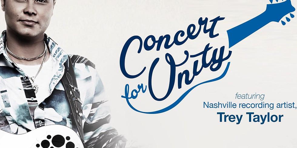 Trey Taylor Concert for Unity Fundraiser & Tour
