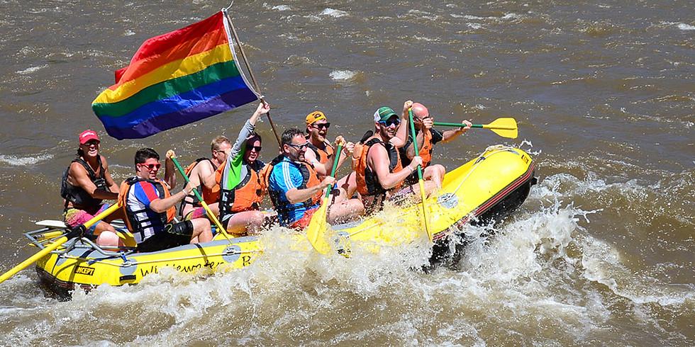 """""""Big Gay Raft Trip"""" in Glenwood Springs"""