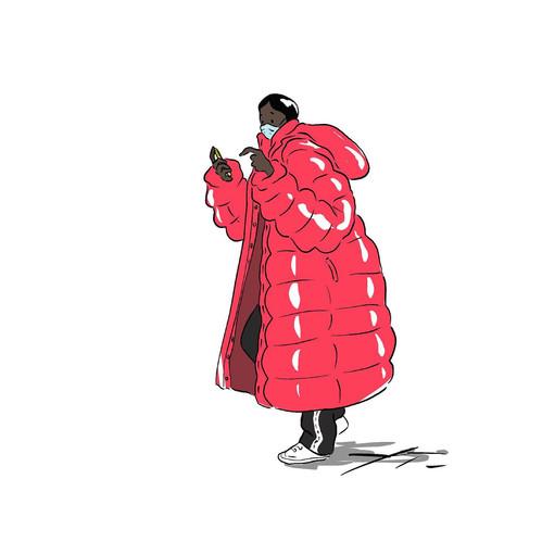 Puff coats - Courtney Moore