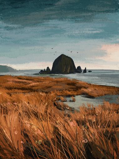 Oregon Coast - Courtney Moore