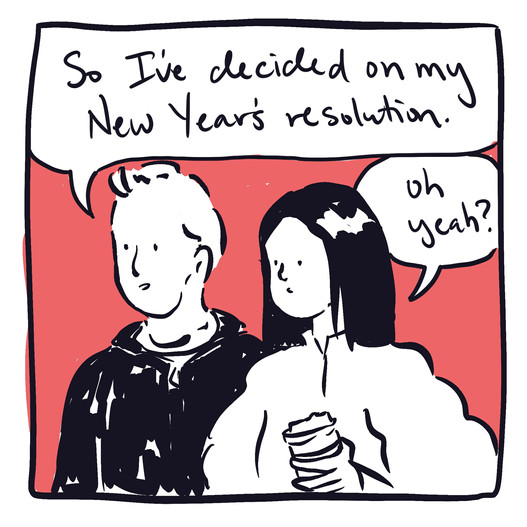 new year's resolution comic 2021